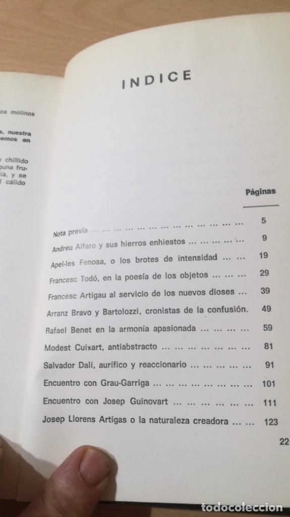 Libros de segunda mano: LA PALABRA DEL ARTE - BALTASAR PORCEL - RAYUELA S-204 OTROS - Foto 9 - 209772285
