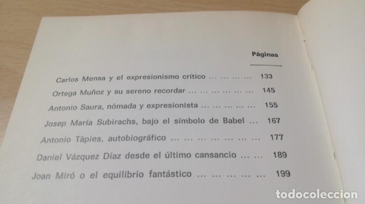 Libros de segunda mano: LA PALABRA DEL ARTE - BALTASAR PORCEL - RAYUELA S-204 OTROS - Foto 10 - 209772285