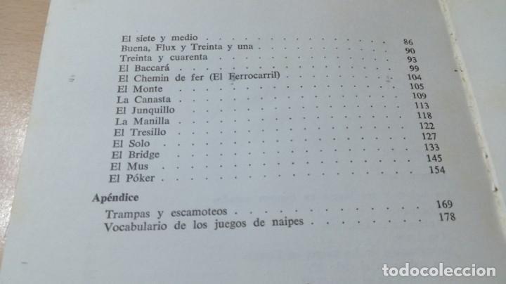 Libros de segunda mano: COMO JUGAR Y VENCER A LAS CARTAS - DE VECCHI - J Mª AYMAMI U-104 OTROS - Foto 7 - 209772578