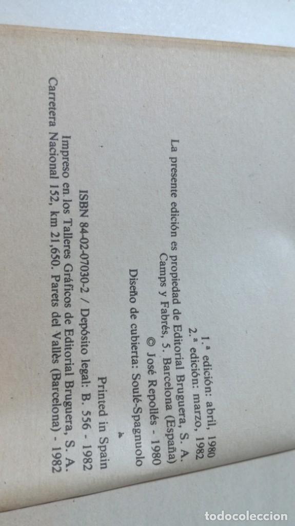 Libros de segunda mano: COMO COLECCIONAR SELLOS - JOSE REPOLLES - BRUGUERA U-202 OTROS - Foto 5 - 209772648