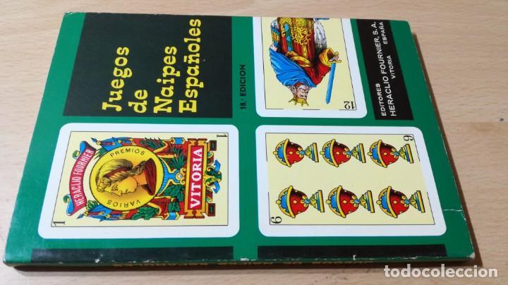 JUEGOS DE NAIPES ESPAÑOLES - HERACLIO FOURNIER U-203 OTROS (Libros de Segunda Mano - Bellas artes, ocio y coleccionismo - Otros)