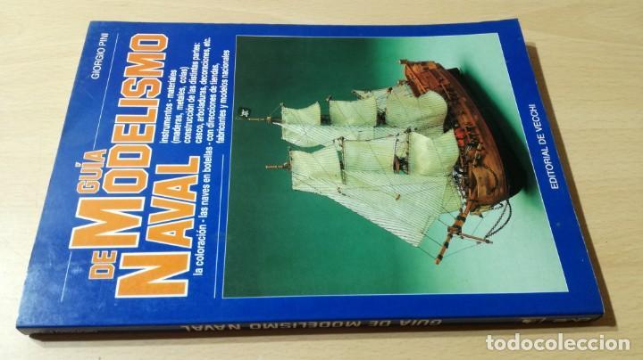 GUIA DE MODELISMO NAVAL - GIORGIO PINI - EDITORIAL DE VECCHI U303 OTROS (Libros de Segunda Mano - Bellas artes, ocio y coleccionismo - Otros)