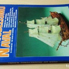 Libros de segunda mano: GUIA DE MODELISMO NAVAL - GIORGIO PINI - EDITORIAL DE VECCHI U303 OTROS. Lote 209773032