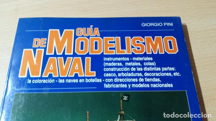 Libros de segunda mano: GUIA DE MODELISMO NAVAL - GIORGIO PINI - EDITORIAL DE VECCHI U303 OTROS - Foto 3 - 209773032