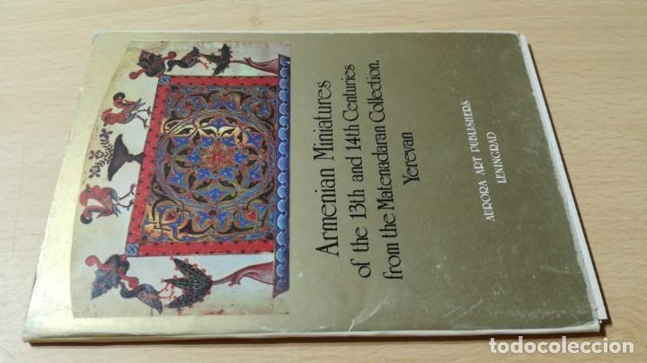 ARMENIAN MINIATURES OF THE 13TH AND 14TH CENTURIES - COLECCIÓN FOTOGRAFIAS LENIGRAD U305 OTROS (Libros de Segunda Mano - Bellas artes, ocio y coleccionismo - Otros)