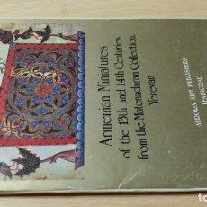 Libros de segunda mano: ARMENIAN MINIATURES OF THE 13TH AND 14TH CENTURIES - COLECCIÓN FOTOGRAFIAS LENIGRAD U305 OTROS. Lote 209773168