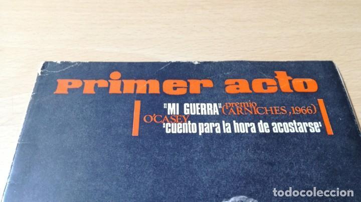 Libros de segunda mano: PRIMER ACTO - 80 - 1966 - MI GUERRA ARNICHES - CUENTO HORA ACOSTARSE O´CASEY U-401 TEATRO - Foto 3 - 209775267