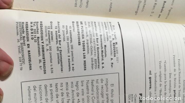 Libros de segunda mano: PRIMER ACTO - 80 - 1966 - MI GUERRA ARNICHES - CUENTO HORA ACOSTARSE O´CASEY U-401 TEATRO - Foto 5 - 209775267