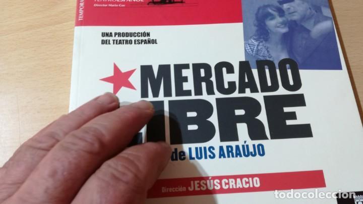 Libros de segunda mano: TEATRO ESPAÑOL 24 - MERCADO LIBRE DE LUIS ARAUJO - JESUS CRACIO - MARIO GAS U-403 TEATRO - Foto 4 - 209775317