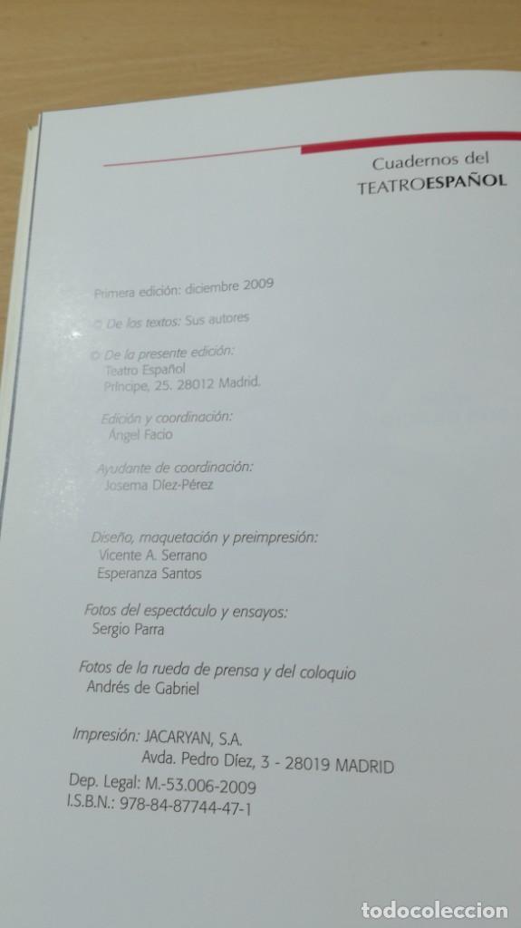 Libros de segunda mano: TEATRO ESPAÑOL 24 - MERCADO LIBRE DE LUIS ARAUJO - JESUS CRACIO - MARIO GAS U-403 TEATRO - Foto 7 - 209775317