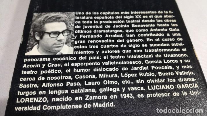 Libros de segunda mano: EL TEATRO ESPAÑOL HOY - 6 - LUCIANO GARCIA LORENZO - PLANETA Z401 TEATRO - Foto 4 - 209775393