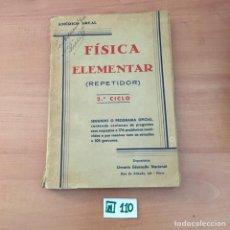 Libros de segunda mano: FÍSICA ELEMENTAR. Lote 209807940