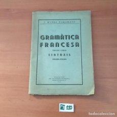 Libros de segunda mano: GRAMÁTICA FRANCESA. Lote 209808157