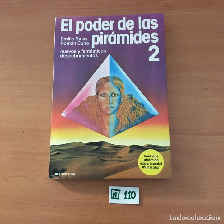 EL PODER DE LAS PIRÁMIDES (Libros de Segunda Mano - Ciencias, Manuales y Oficios - Otros)