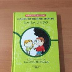 Libros de segunda mano: MANOLITO TIENE UN SECRETO. Lote 209808516