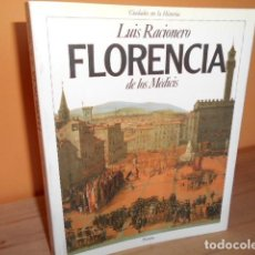 Livros em segunda mão: FLORENCIA DE LOS MEDICIS / LUIS RACIONERO. Lote 209813068