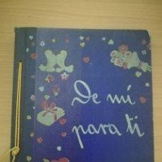 Libros de segunda mano: DE MÍ PARA TI. DINAH NELKEN,. Lote 209815065