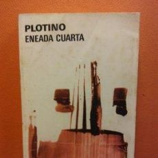Livres d'occasion: ENEADA CUARTA. PLOTINO. EDITORIAL AGUILAR. Lote 209927733