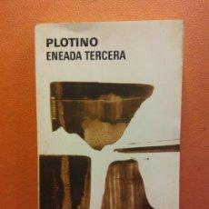 Livres d'occasion: ENEADA TERCERA. PLOTINO. EDITORIAL AGUILAR. Lote 209927777