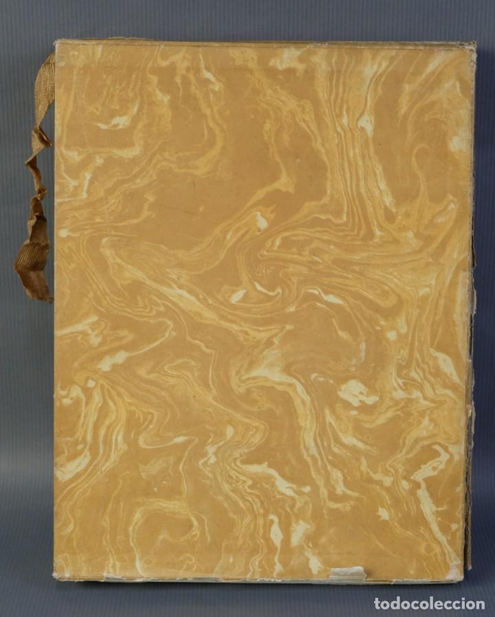 """Libros de segunda mano: Libro perteneciente a cuatro ejemplares especiales con texto estampado sobre papel """"verjurat Castell - Foto 2 - 209971290"""