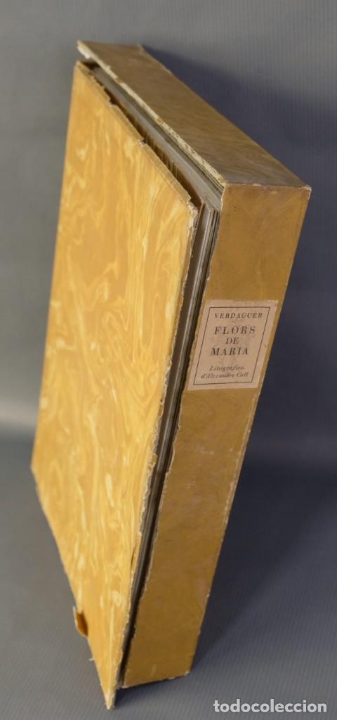 """Libros de segunda mano: Libro perteneciente a cuatro ejemplares especiales con texto estampado sobre papel """"verjurat Castell - Foto 3 - 209971290"""