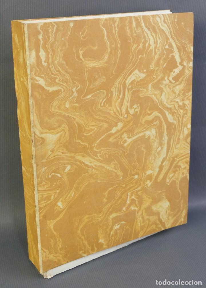 """Libros de segunda mano: Libro perteneciente a cuatro ejemplares especiales con texto estampado sobre papel """"verjurat Castell - Foto 5 - 209971290"""