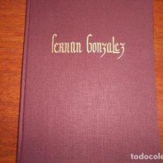 Libri di seconda mano: FERNAN GONZALEZ,SU PUEBLO Y SU VIDA / FRAY VALENTIN DE LA CRUZ. Lote 210018515