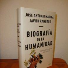 Libri di seconda mano: BIOGRAFÍA DE LA HUMANIDAD - JOSÉ ANTONIO MARINA, JAVIER RAMBAUD - ARIEL, MUY BUEN ESTADO. Lote 210044345