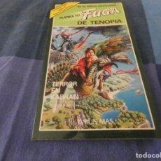 Libri di seconda mano: LIBROJUEGOS ARKANSAS1980: PLANEA TU FUGA DE TENOPIA 2 TERROR EN KABRAN. Lote 210069896