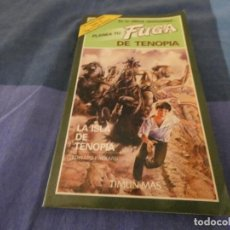 Libri di seconda mano: LIBROJUEGOS ARKANSAS1980: PLANEA TU FUGA DE TENOPIA LA ISLA DE TENOPIA. Lote 210069900