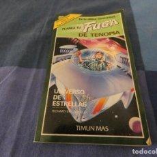 Libri di seconda mano: LIBROJUEGOS ARKANSAS1980: PLANEA TU FUGA DE TENOPIA UNIVERSO DE ESTRELLAS. Lote 210069905