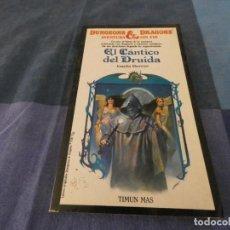Libros de segunda mano: LIBROJUEGOS ARKANSAS1980 DUNGEONS AND DRAGONS 23 EL CANTICO DEL DRUIDA. Lote 210070501