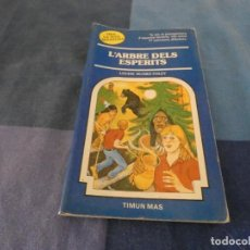 Libri di seconda mano: LIBROJUEGOS ARKANSAS1980 ELIGE TU PROPIA AVE3NTURA CATALAN 62 ARBRE DELS ESPERITS. Lote 210071228
