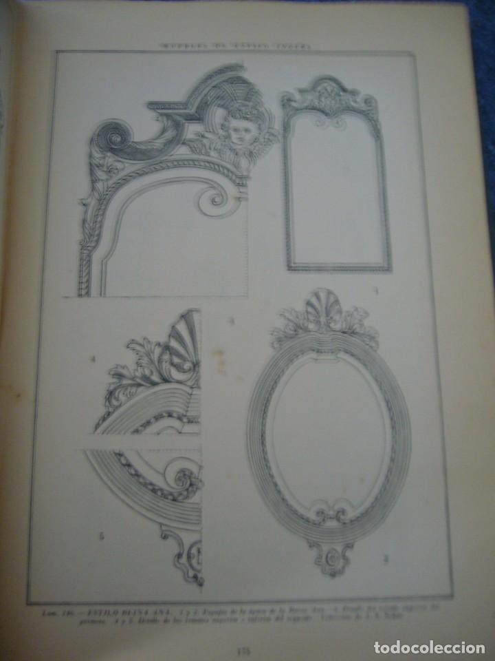 Libros de segunda mano: MUEBLES DE ESTILO INGLÉS - J. CLARET RUBIRA - Foto 6 - 210074221