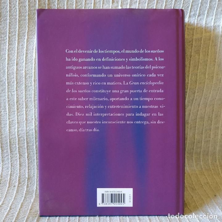 Libros de segunda mano: Gran Enciclopedia de los Sueños - Pamela Ball - Circulo de Lectores - 419 pags. 581 gramos NUEVO!!! - Foto 2 - 210094850