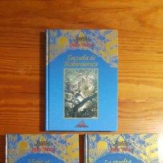 Libros de segunda mano: VIAJES EXTRAORDINARIOS JULIO VERNE. EDICIONES RUEDA. 2002. LOTE DE TRES.. Lote 210132310