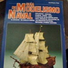 Libros de segunda mano: GUÍA DE MODELISMO NAVAL. GIORGIO PINI. Lote 210206766