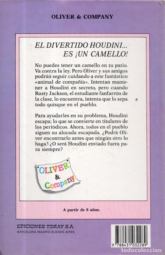 Libros de segunda mano: VESIV LIBRO OLIVER Y EL SECRETO DEL CAMELLO PERDIDO DE PAGE MCBRIER - Foto 2 - 210208661