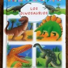 Libros de segunda mano: LOS DINOSAURIOS. DICCIONARIO DE LOS PEQUES. FLEURUS PANINI.. Lote 210223743