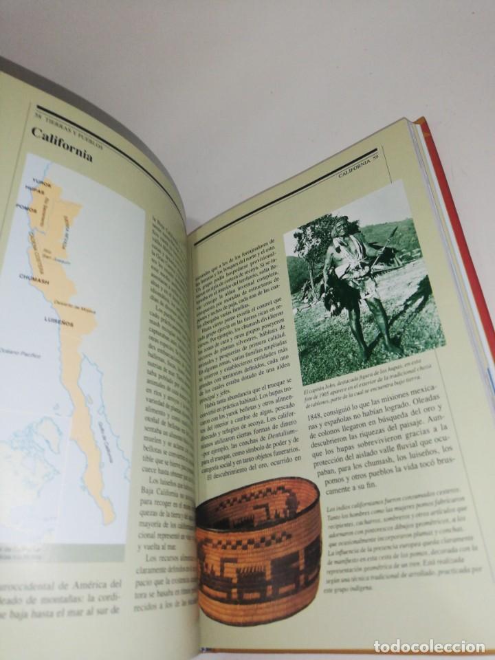 Libros de segunda mano: INDIOS NORTEAMERICANOS, Larry Zimmerman, Culturas de la sabiduria - Foto 3 - 210256700