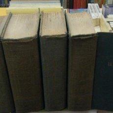 Libros de segunda mano: OBRAS 5 TOMOS. NUÑEZ ALONSO, ALEJANDRO. A-NSF-3402. Lote 210331596