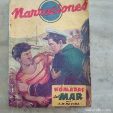 Libros de segunda mano: NARRACIONES N.4 NOMADAS DEL MAR, EDT CIES, VIGO 1945, PRPM 34. Lote 210340810