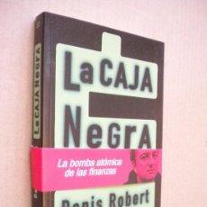 Libros de segunda mano: LA CAJA NEGRA - DENIS ROBERT - FOCA - 2003. Lote 210345671