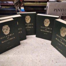 Libros de segunda mano: HISTORIA DE MALLORCA . 5 TOMOS ( COMPLETA ) . J . MASCARÓ PASARIUS . 1970 - 75 . ARTE , ARQUITECTURA. Lote 210349020