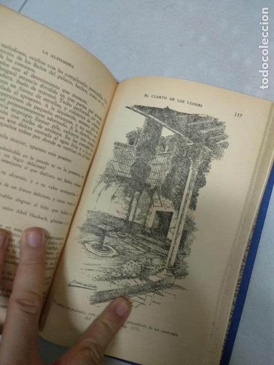 Libros de segunda mano: LA ALHAMBRA. FIDEL FERNÁNDEZ. EDITORIAL JUVENTUD. - Foto 4 - 210418151