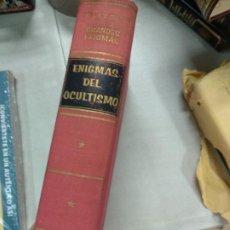 Libros de segunda mano: ENIGMAS DEL OCULTISMO -- JULIEN TONDRIALI COLECCIÓN GRANDES ENIGMAS. Lote 210420323