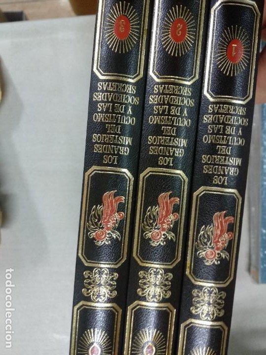 LOS GRANDES MISTERIOS DEL OCULTISMO Y DE LAS SOCIEDADES SECRETAS / 3 TOMOS (Libros de Segunda Mano - Parapsicología y Esoterismo - Otros)