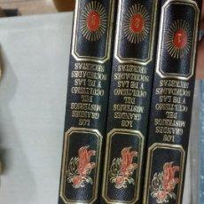 Libros de segunda mano: LOS GRANDES MISTERIOS DEL OCULTISMO Y DE LAS SOCIEDADES SECRETAS / 3 TOMOS. Lote 210420521