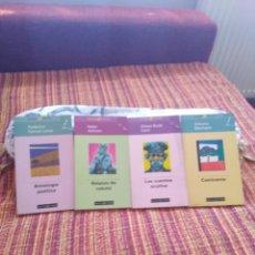 Libros de segunda mano: 4 LIBROS DE LITERATURA. Lote 210446322