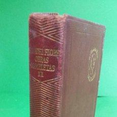 Libros de segunda mano: 1.959 WENCESLAO FERNÁNDEZ FLOREZ. OBRAS COMPLETAS. EDITORIAL AGUILAR.. Lote 210455628